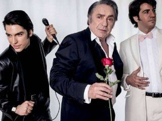 Agustín Sullivan, Antonio Grimau y Marco Antonio Caponi