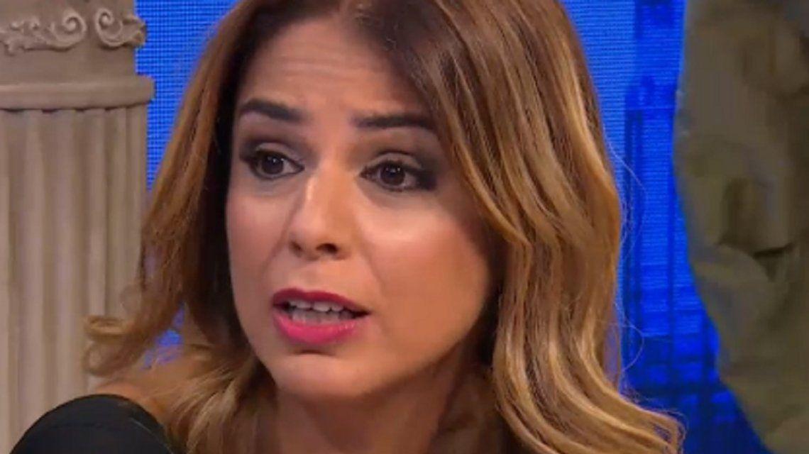 Marina Calabró sufrió un accidente