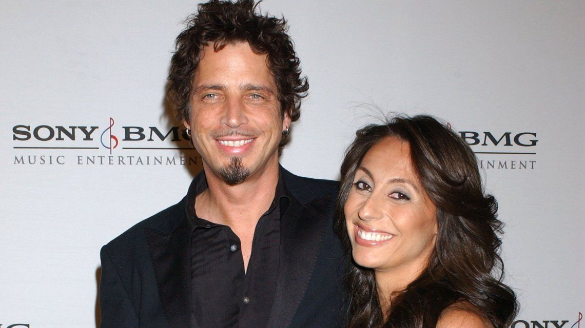 La mujer de Chris Cornell habló por primera vez de la muerte del cantante: Él quería estar acá para su familia