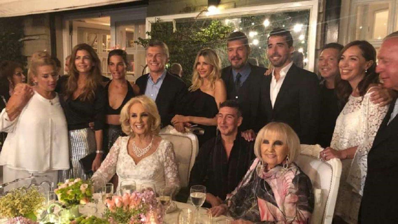El cumpleañoa de Mirtha con invitados de lujo
