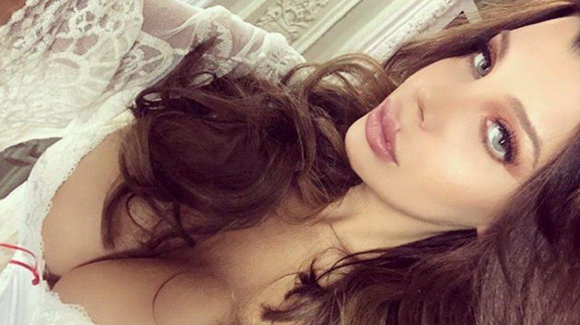 Impactante foto de Charlotte Caniggia con una cara completamente nueva