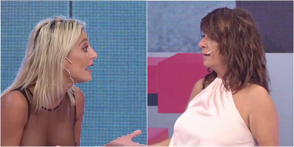 Sol Pérez y Andrea Taboada se pelearon fuerte en vivo: ¡Ubicate!