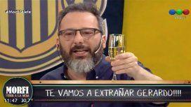 Gerardo Rozín se despidió de Morfi