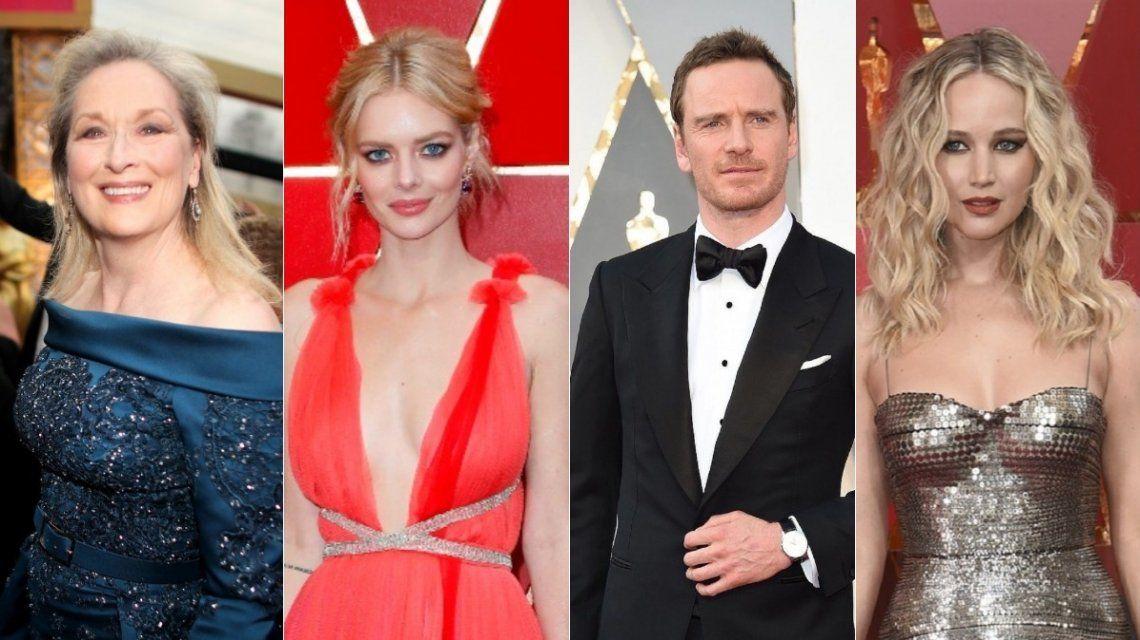 La alfombra roja de los Oscar 2018