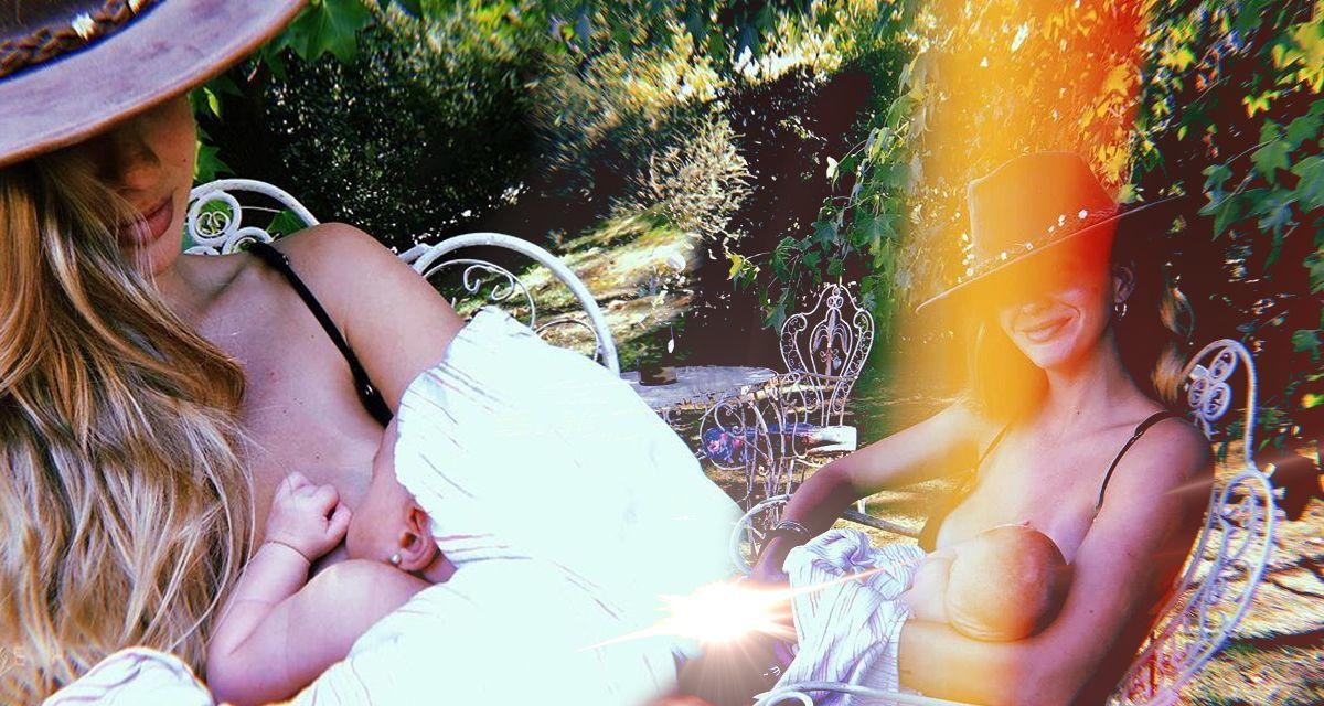 Las tiernas fotos de la China Suárez y Magnolia