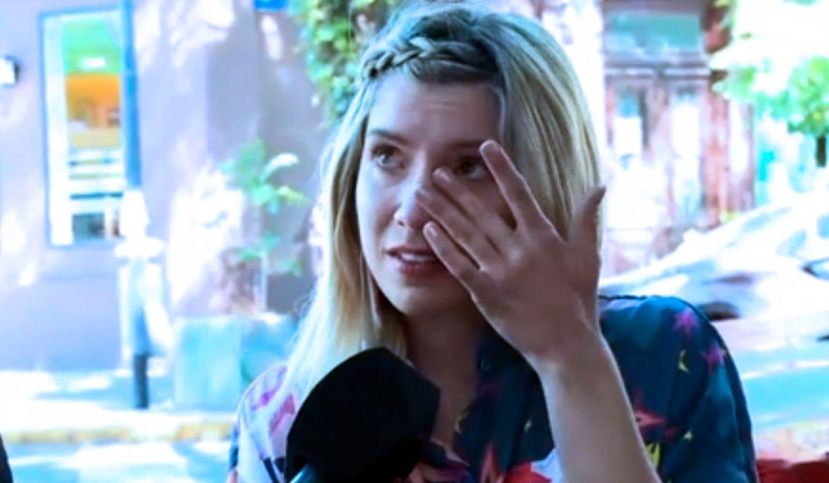 Laurita Fernández lloró en vivo