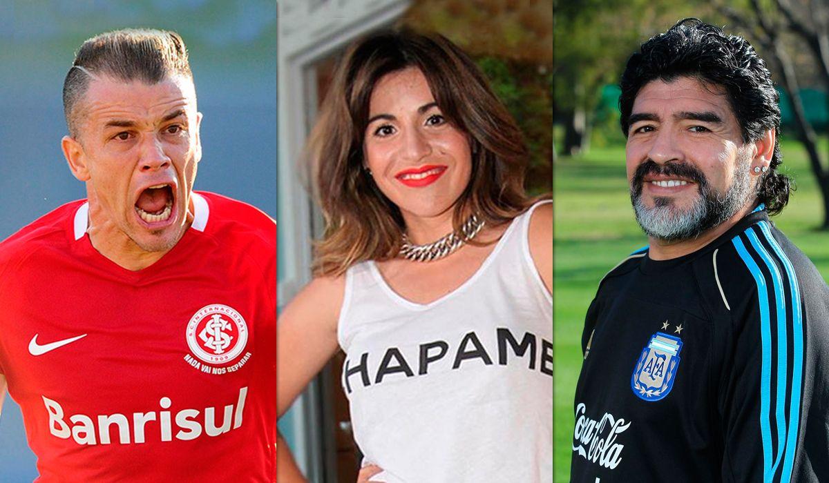 DAlessandro apuntó contra Gianinna y Diego Maradona