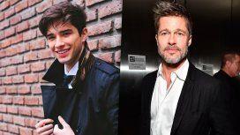 Julián Serrano se comparó con Brad Pitt