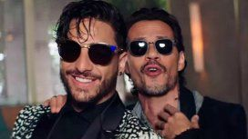 Maluma y Marc Anthony