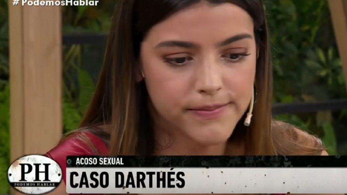 VIDEO: Calu Rivero, al borde del llanto por su denuncia contra Darthés