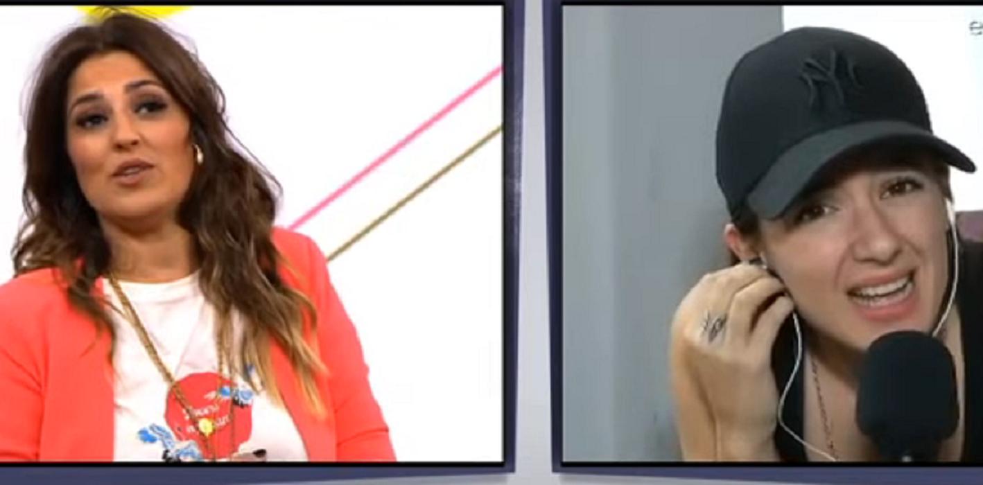 Polémico momento en la TV: Maju Lozano cortó un móvil con Malena Pichot