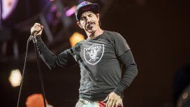 El cantante de los Red Hot Chili Peppers en Buenos Aires