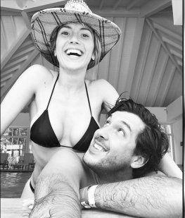 Laurita Fernández, en Uruguay con Pepe Ochoa