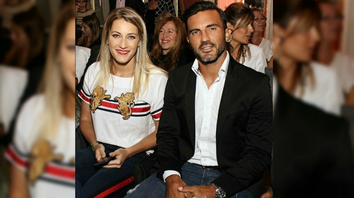 Viciconte y Cubero juntos en el Fashion Week