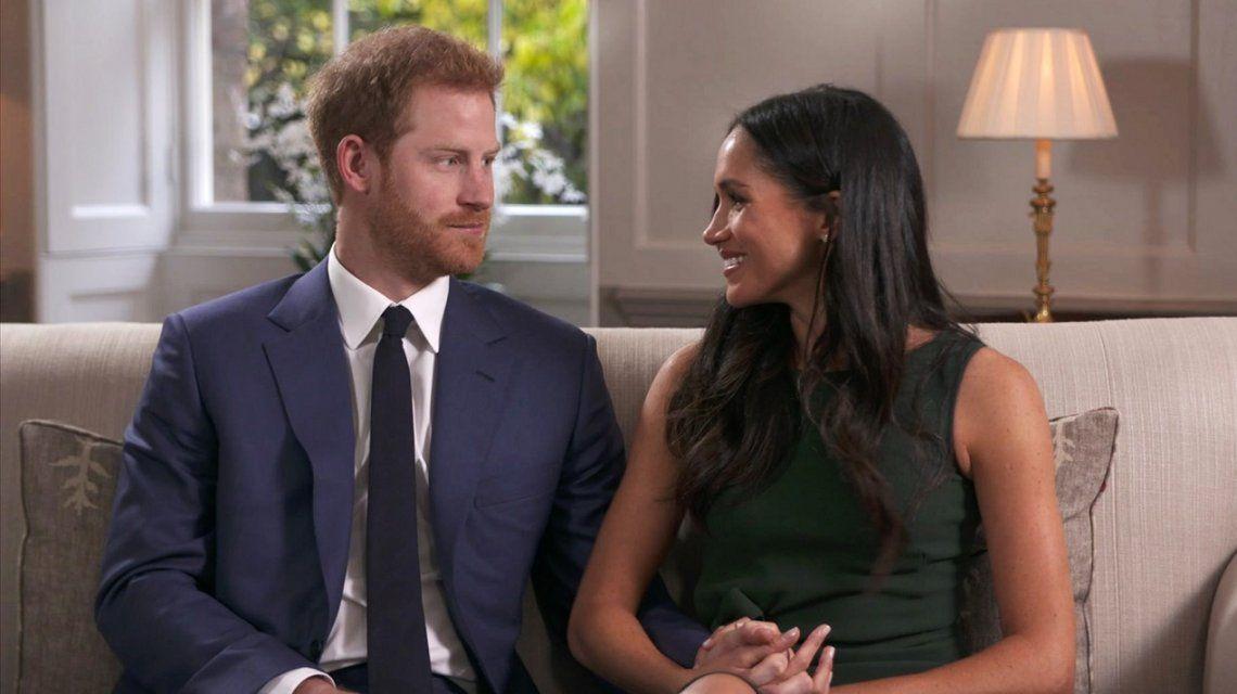 Las invitaciones a la boda del Príncipe Harry