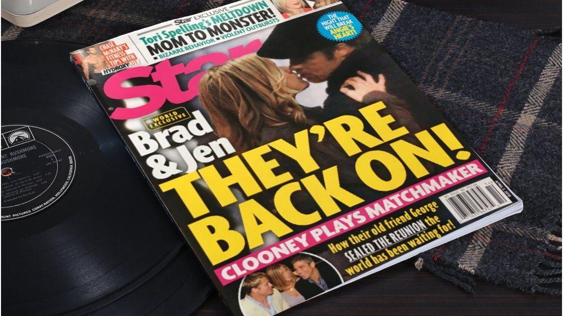 Rumor de reconciliación de Jennifer Aniston y Brad Pitt