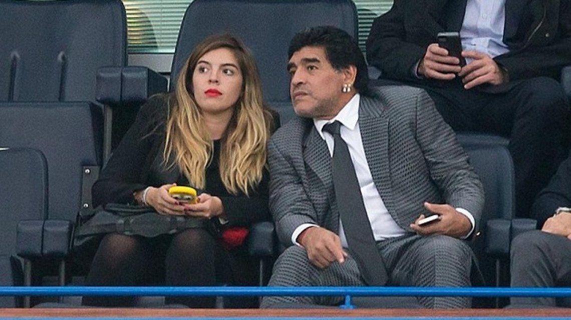 Diego Maradona y Dalma