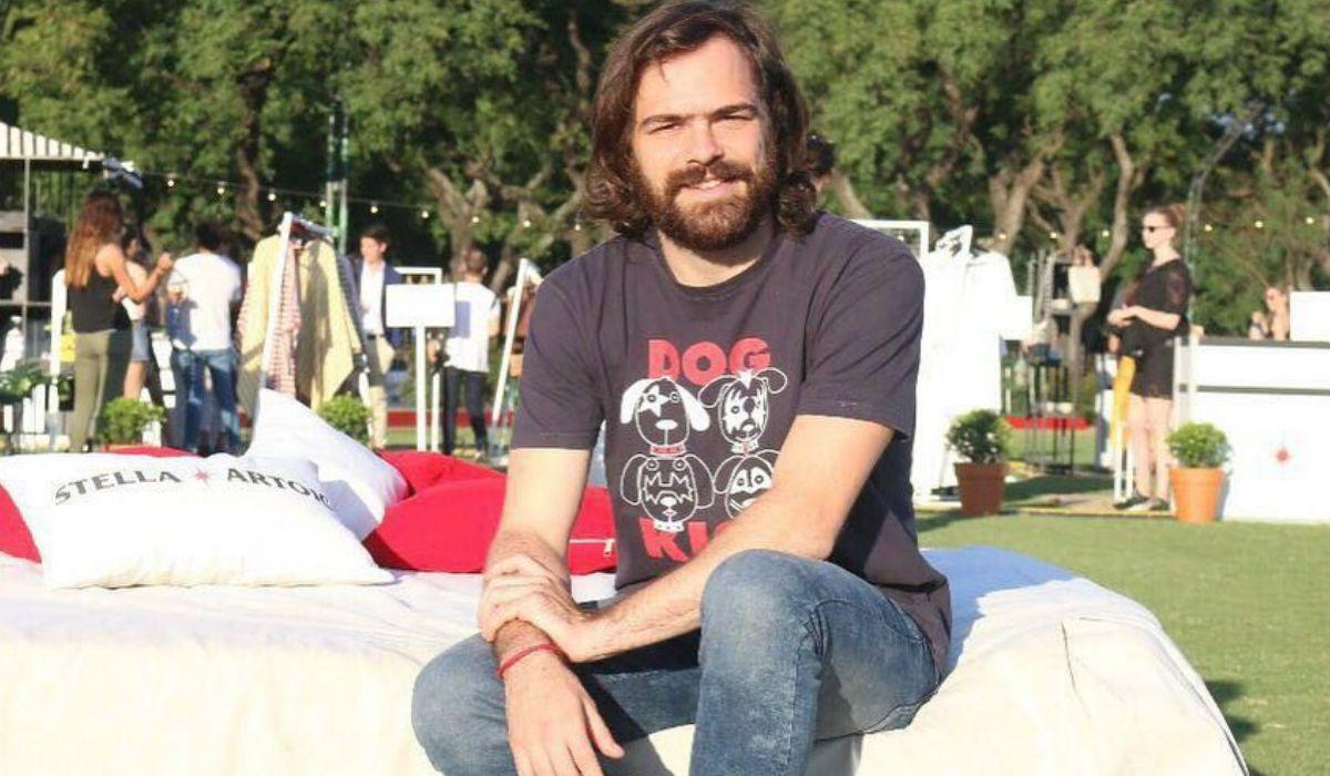 Pedro Lanzani con su look anterior