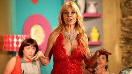 Graciela Alfano, diosa sin maquillaje