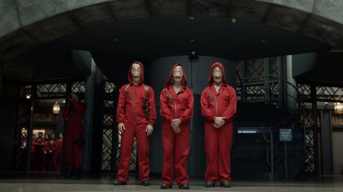Se estrenó el trailer de la segunda temporada de La Casa de Papel