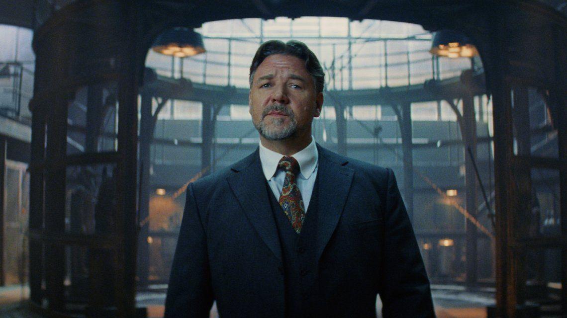 Russell Crowe en La momia  (2017)