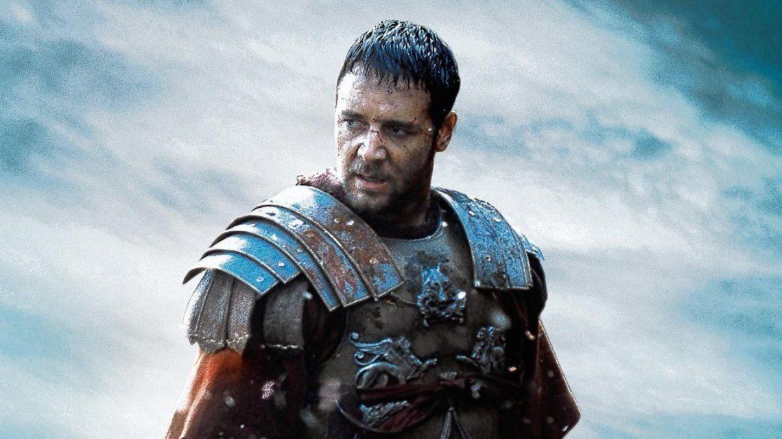 Russell Crowe en Gladiador (2000)