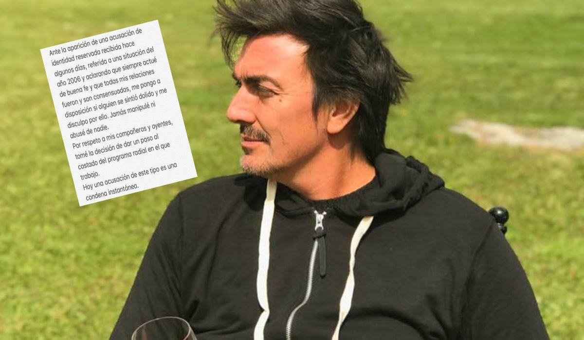 Joe Fernández publicó un texto en las redes sociales