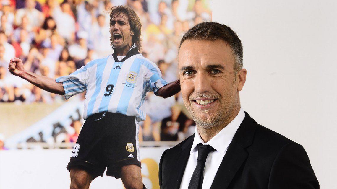 Gabriel Batistuta, de goleador a conductor de televisión