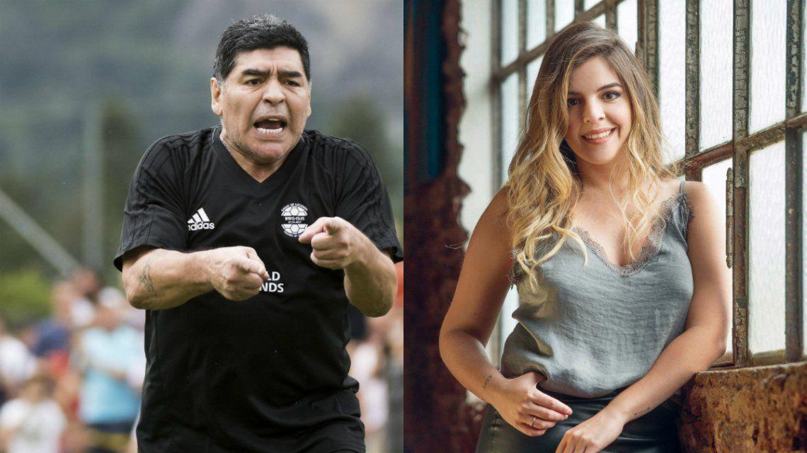 Diego Maradona ganó el partido por el que no vino al casamiento de Dalma