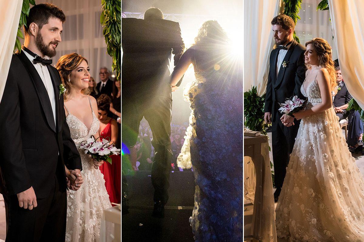 Las mejores fotos del casamiento de Dalma Maradona