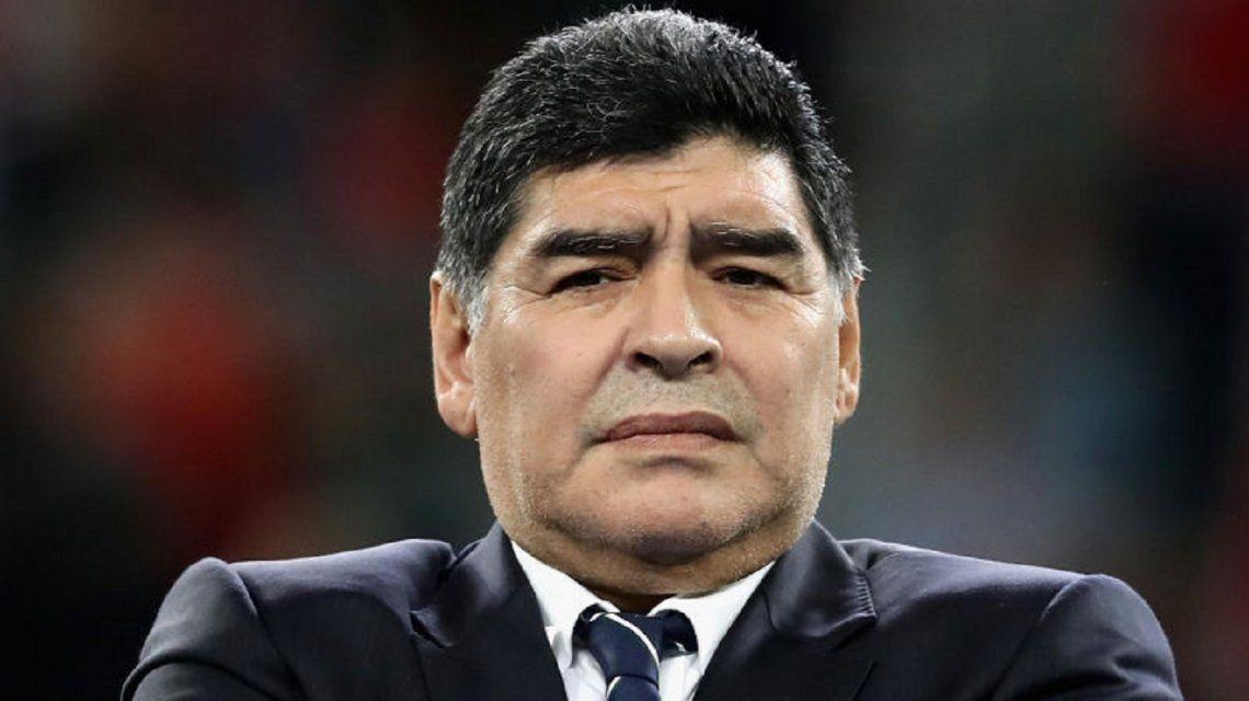Maradona contó detalles de la charla con Dalma y reveló qué le regaló a su hija