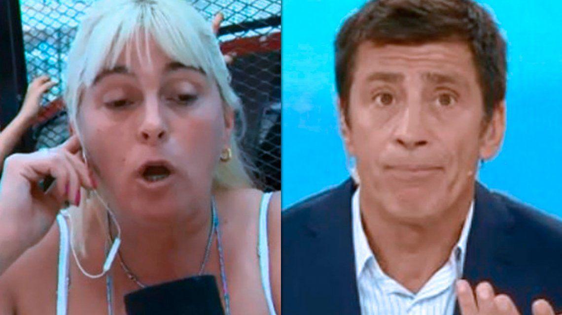 VIDEO: Nicolás Repetto se peleó con la mujer que hizo un garage en la vereda