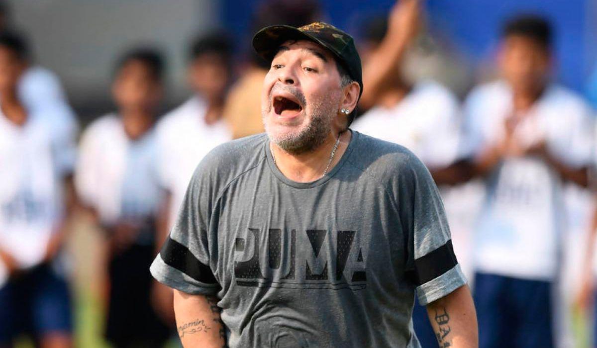 Diego Maradona y su revelación mística
