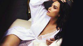 Demi Lovato se mostró al natural