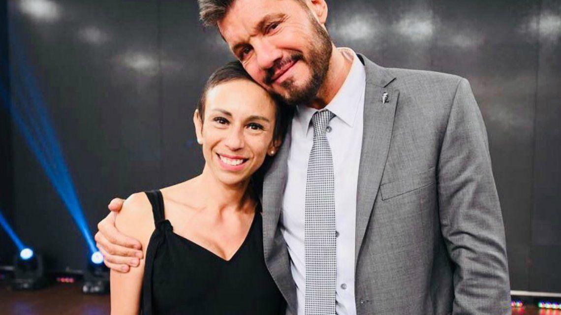Marisol junto a Tinelli