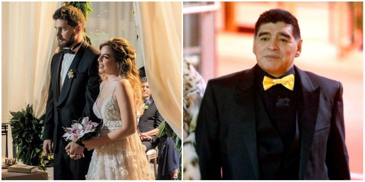 Dalma Maradona contó qué pasó con el traje que Diego había comprado para su boda