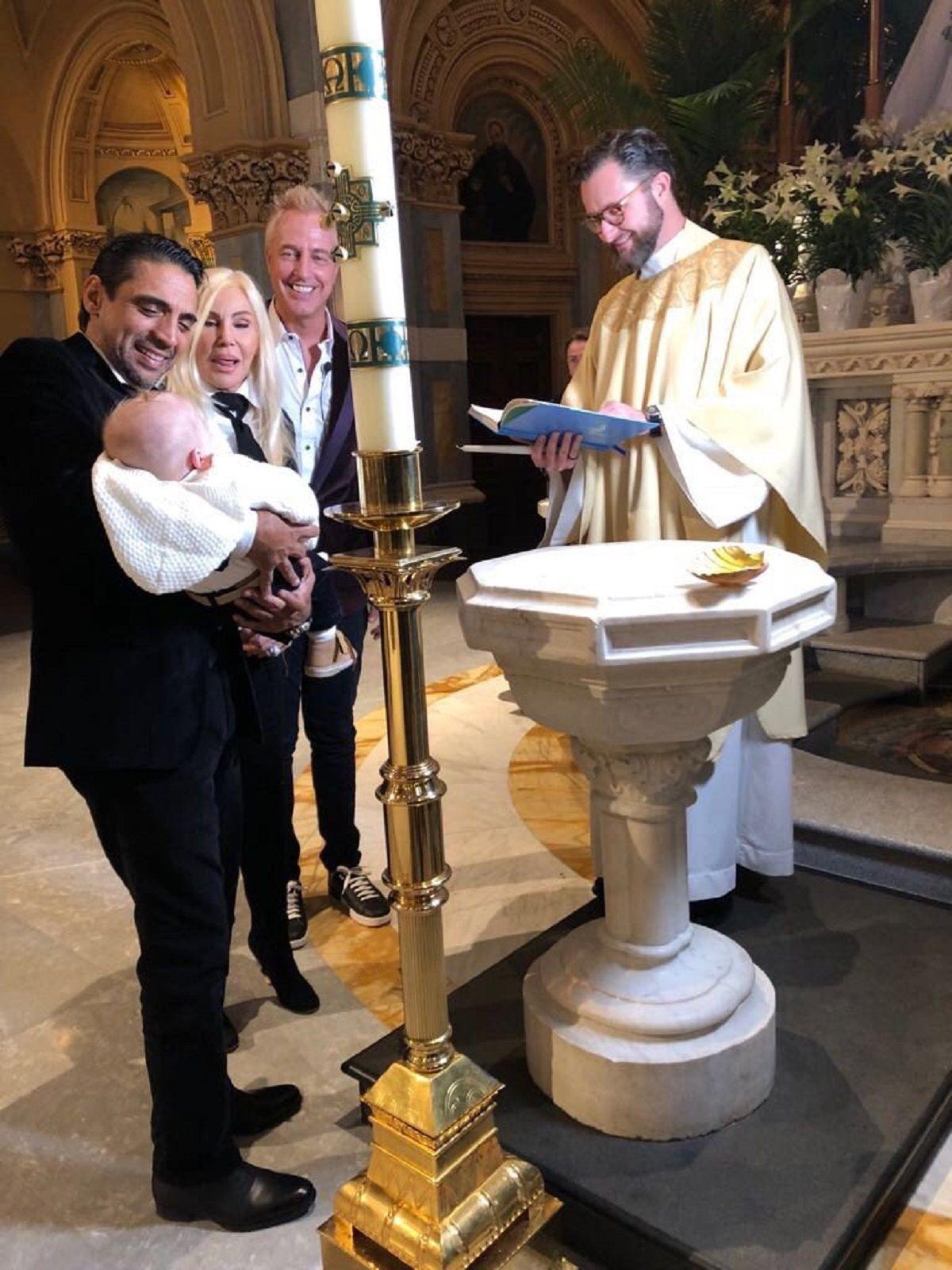 Mirko Wiebe fue bautizado en Nueva York