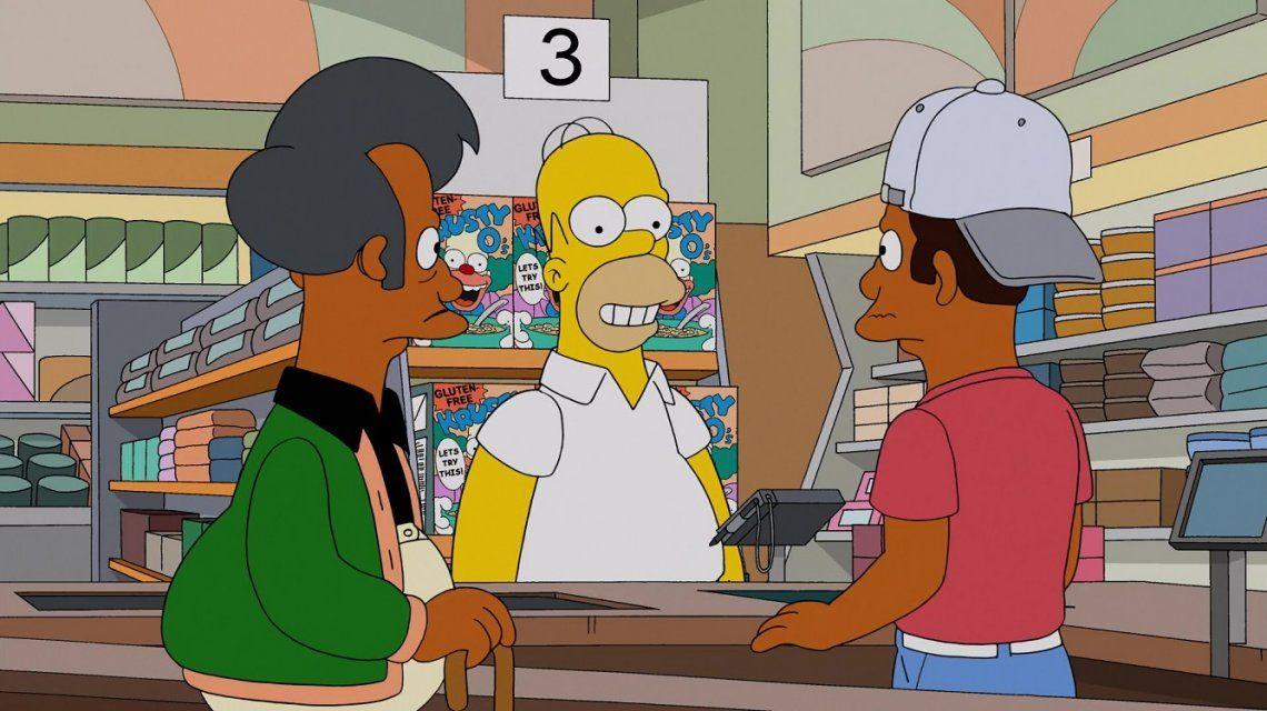 Polémica en Los Simpson por Apu
