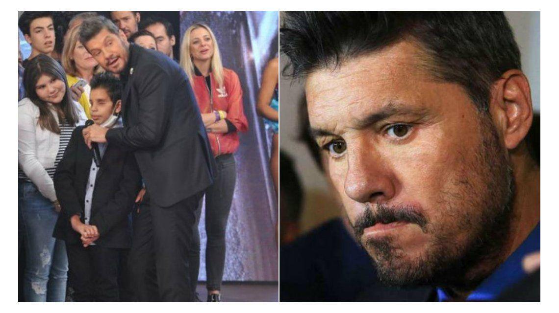 Marcelo Tinelli, conmovido por la muerte de Thiago: su mensaje de despedida