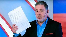 Fabián Doman mostró la lista de Natacha Jaitt