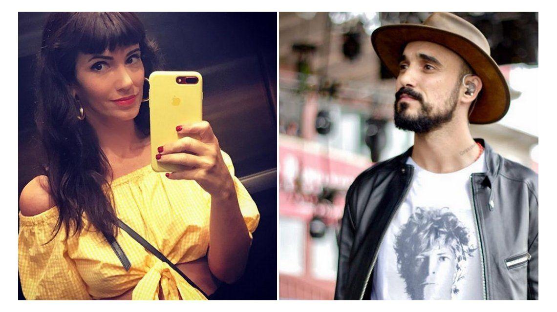 El gesto 2.0 de Griselda Siciliani con Abel Pintos