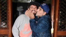 Diego Maradona irá a conocer al hijo de Diego Jr.
