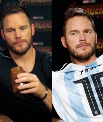 Chris Pratt y su gusto por lo argentino