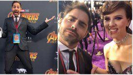 Grego Rosello cumplió el sueño de conocer a Scarlett Johansson