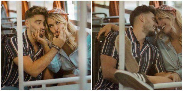 Vigna usó Instagram para darle las gracias a su ex novio por los años compartidos