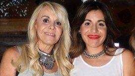 Claudia Villafañe y Gianinna Maradona