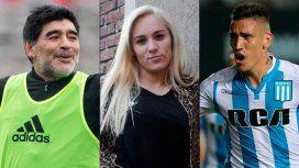 Rocío Oliva engañó a Maradona con Centurión