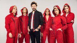 El elenco de La casa de papel indignado con el fallo de La Manada