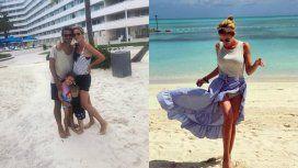 Paula y Pedro, de vacaciones en Bahamas