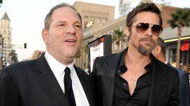 Brad Pitt y su venganza de Harvey Weinstein